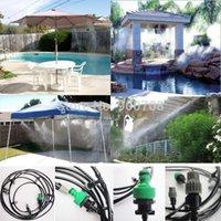 Wholesale sets m Outdoor Garden Patio Misting Cooling System Plastic Mist Nozzle