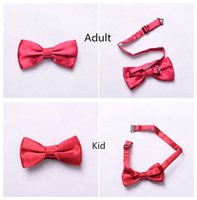 Wholesale Kids Red Bow Tie Doctor Who Bowties Adult th Dr Replica Costume Accessory Unisex Xmas Birthday Gift