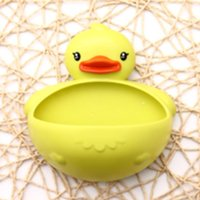 Wholesale banheiro bathroom accessories prato Green multifunction powerful suction wall Soap dish rilakkuma jabonera base