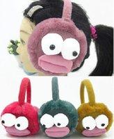 Wholesale New winter big eyes cartoon super soft warm earmuffs earmuffs Children FS00279