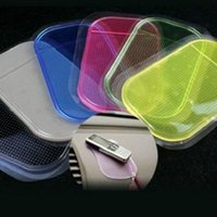 Wholesale Anti Slip Car Dashboard Sticky Pad Non Slip Mat GPS Mobile Phone Holder Color