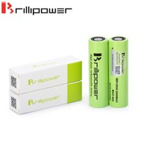 batteries discharge - Authentic mah Ecig Battery A Brillipower IMR High Discharge Rate E cig Battery rechargeable lithium Cells High Drain
