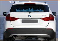 Wholesale Sound Music Activated EL Sheet Car Sticker Equalizer Glow Flash Panel LED Multi Color Decorative Light Car Accessories
