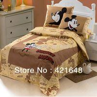 bunk bed - kids children bunk bed mickey minnie mouse bedding set comforter set cartoon duvet cover cotton