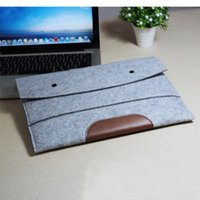 Wholesale Felt design laptop notebook Ultrabook case cover sleeve pouch bag for macbook air for macpro13