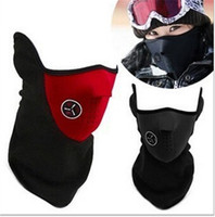 Wholesale 300pcs HOT sale colors Neoprene Snowboard Ski Cycling Face Mask Neck Warmer Bike Bicyle ski mask Motorcycle Bicycle Scarf D475