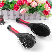 Wholesale MOQ Double Sides Dog Cat Comb Pet Faced Brush Pet Fur Grooming Cleaning Tool