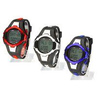 calorie counter watch - 2015 new Men Women Fitness Sports Watches Pedometer Heart Rate Monitor Calories Counter Digital Watch Women Wristwatches H15088
