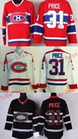 Wholesale Canadiens carey price Cheap Hockey Jerseys ICE Winter mens women kids Stitched Jersey
