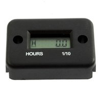 Wholesale High Quality Digital Hour Revolution Meter Dirtbike ATV Snowmobile Boat Black