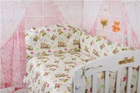 baby bedding designers - New Designer Baby Cot Set set Multi Style Baby Bedding Set Cotton Baby Bed Bumper Sheets Baby Cot Sets Sabanas Cuna