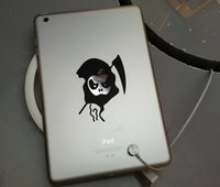 Wholesale Devil Part Cover Sticker Decal for iPad Mini Logo