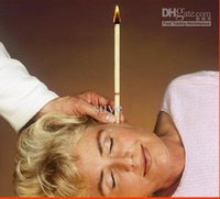 Wholesale 50pcs pairs therapy Medical Ear candle Health Care
