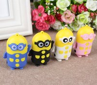 Wholesale Despicable Me MP3 MP4 player music player Cartoon Speaker Mini HIFI Loud Speaker MP3 Player SD Card USB Disk