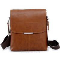 Wholesale New Fashion Men Bags Men PU Leather Messenger Bag POLO Bags Cross Body Crossbody Bags Y50 B9068 M5