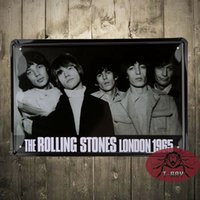 band paintings - The Classic bands LONDON metal paintings Vintage home decor