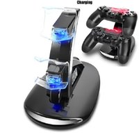 ps4 games - Dual Controllers Charger Charging Dock Stand Station For Sony PlayStation PS4 X box one Game Wireless Controller Console