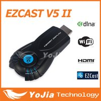Wholesale TV Dongle v5ii ezcast smart tv stick media player with function of DLNA Miracast better than android tv box chromecast mk808 mk908