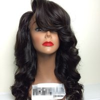 best monofilament - Best Quality Peruvian Wavy Virgin Hair Full Lace Wigs Lace Front Wig Middle Part Glueless Human Hair Wigs