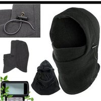 Wholesale Unisex in Balaclava Thermal Fleece Scarf Face Mask Warm Ski Cycling Windproof Caps Style Choose DPA