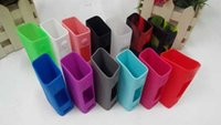 silicone gel - Silicon Cases for EVIC VTC mini Colorful Silicone Case Bag Rubber Sleeve Protective Cover Silica Gel Skin DHL