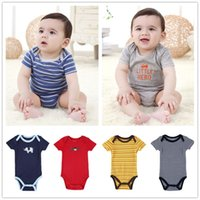 Wholesale Fahion Newest Children Kids Clothes Cotton Baby Romper Suit Cartoon Outfit Newborn Baby Summer Short Pant Clothes