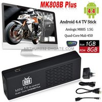 Not Included MK808 TV box android - MK808 MK808B Plus Amlogic M805 Quad Core Android TV BOX Mini PC Smart TV Stick Dongle G G WIFI H XBMC Bluetooth DLNA Miracast