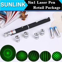 ball beam - Christmas Party Ball Star Cap Green Laser Pointer Pen Stage Light Stary Laser Beam for SOS Mounting Night Hunting with Battery Retail Box