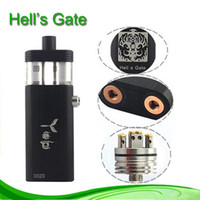 electronic products - Hottest Product in USA Hells Gate Mod support Dual Battery Dual RDA Hell s gate Mod Box Mod in stock Electronic cigarette DHL Shipping