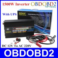 best car power inverter - Best Quality W Car Power Inverter With UPS Function Charger Converter DC V To AC Doxin W