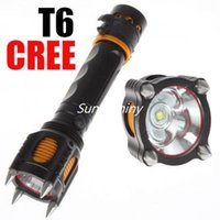 attack fish - Hot Lm Tactical CREE XM L T6 LED Four Attack Heads Audible Alarm Flashlight Set