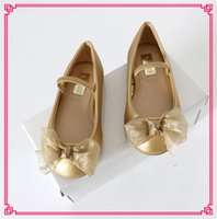 resale - 2015 Girls Flats Leapter Lace Shoes Waterproof Yogon Bow Casual Party Shoes Shoes with Resale Package Hign Quality