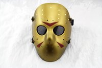Wholesale DC New Jason vs Friday The th Prop Horror Hockey Halloween Costume Cosplay Mask