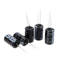 Wholesale 25 Electrolytic Capacitor Package Capacitance Set uF uF diagnostic tool Passive supplies condensadores