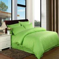 Wholesale Hotel linen hotel cotton bedding set solid duvet cover bed linen sheet quilt sets bedding set pillowcase no comforter