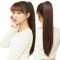 Cheap straight hair Best ponytail hair