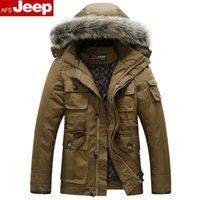 Cheap 2014 Top Fashion Freeshipping Long Winter Clothing Oversized Fur Collar New Men's Fashionc