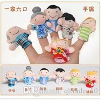 Cheap 2000pcs CCA2453 Finger Puppet Plush Toys Baby Zodiac And Famliy Plush Lovely Play Learn Animal Story Toy Cute Cartoon Finger Doll Kids Toys