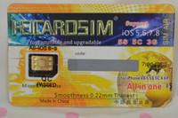att cards - heicard GV1 v easy top unlock USA sprint version for iphone s c att all carrier support usim g support ios7