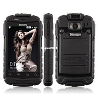 discovery v5 - 100 Original Discovery V5 G WCDMA Android Waterproof Shockproof Mobile Cell Phone MTK6572 dual core Dual Sim