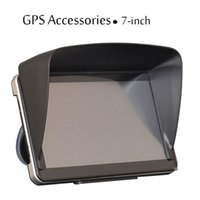 Wholesale Black inch Navigation Car GPS Sunshade Gps Accessories parts Sun Shield Gps sunshine Umbrella navigator