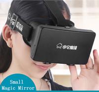 Wholesale 2015 New ColorCross Professional Plastic Edition Head Mount d quot quot mobile phoneVr Virtual Reality Glasses Oculus Google Glass