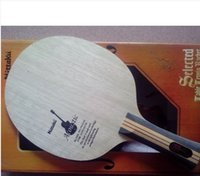 Wholesale Nittaku acoustic table tennis blade FL long handle for table tennis racket racquet sports