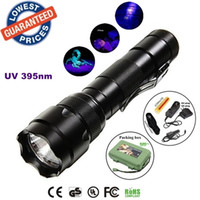 batteries currency - ALONEFIRE b nm Uv LED Flashlights Ore id Currency Passports Detector UV lamplight torches lamps with Battery and charger