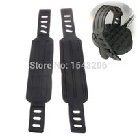 Wholesale 1Pair New Cycling Bike Anti slip Belts Bicycle Pedals Toe Clips Straps for Fixed