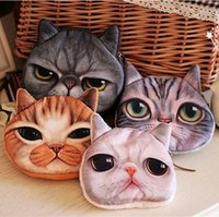 Purse best meow - 2016 New Arrive D cat cathead purse meow star people coin key bag cats cartoon handbag wallets holders best gift A