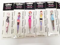 Wholesale Lady Makeup Tweezers Stainless Steel Eyebrows Maquiagem Profissional Hair Removal w Package Mix Pattern Type