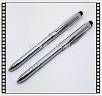 Precio de Bolígrafo de giro-El envío por mayor-Libre XB013B Suministro de regalo de promoción bolígrafo giro brillo bolígrafo de plata metálica líquidamente gratuito Tinta metal elegante