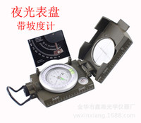 Wholesale Upscale American compass with scale level meter vertical slope meter luminous dial K4074
