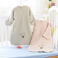class a bags - Newborn children sleeping bag pure colored cotton qiu dong upset the baby play is class A